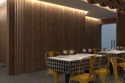 Remodelação e decoração de espaço comercial
